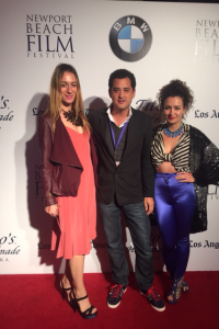 Lylia Doytchinova, Tom Waller and Deborah Dominguez invited at the Newport Beach International Film Festival